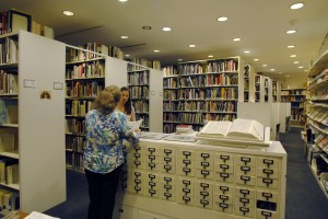 A view of the HMSG Library