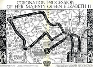 Coronation Procession Route
