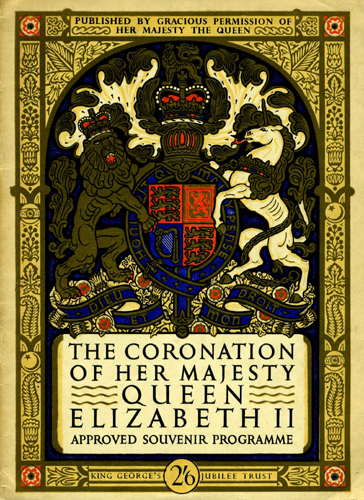 Coronation Souvenir Programme