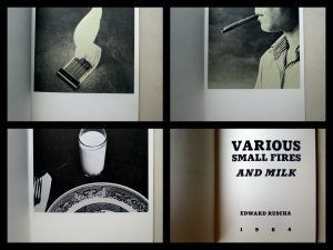 Ruscha's Various Small Fires and Milk