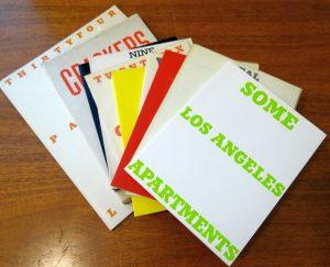 Artists' Books by Ed Ruscha