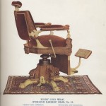 Kochs' Gold Medal Hydraulic Barbers' Chair, No. 25