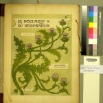Le Document du décorateur, troisième série : fleurs stylisées. fNK3449.D62 CHMSC