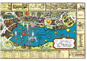 1939 World's Fair Map