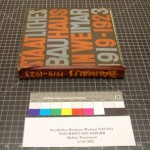 Photo of Bauhaus book before treatment