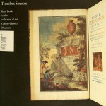 cover of book, Timeless Sources: Rare books at the Cooper-Hewitt Museum