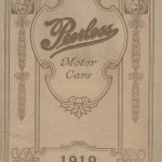 Front cover of Peerless Motor Cars 1910 trade catalog