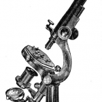 Image of 1883 microscope