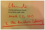 Christo signature