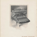 New Century Caligraph No. 5 from 1901 American Writing Machine Co. trade catalog