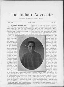 The Indian Advocoate, courtesy of the Library of Congress.