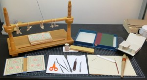 Sewing Frame; custome enclosures; various hand tools