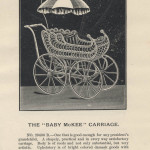 """Baby McKee"" Carriage from 1891 Butler Brothers trade catalog, Special Catalogue of Baby Carriages"