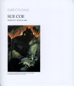 Brochure for Directions: Sue Coe.