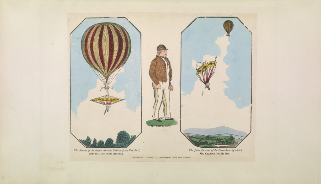 Robert Cocking's Parachute Experiment