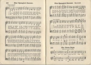 Star Spangled Banner from Uncle Sam's School Songs