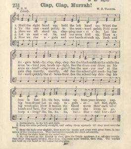 Clap, Clap, Hurrah! from Uncle Sam's School Songs
