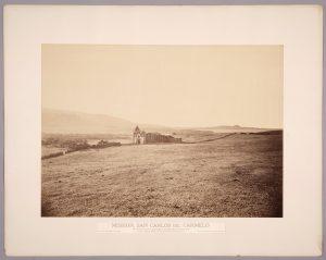 Carleton Watkins, Mission, San Carlos [Borromeo] del Carmelo, ca. 1877