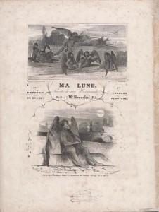Ma Lune sheet music cover