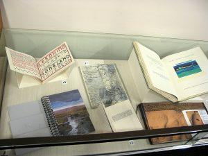 Artists' book display