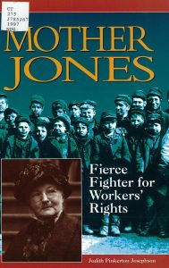 "Cover of ""Mother Jones: Fierce Fighter for Workers' Rights"""