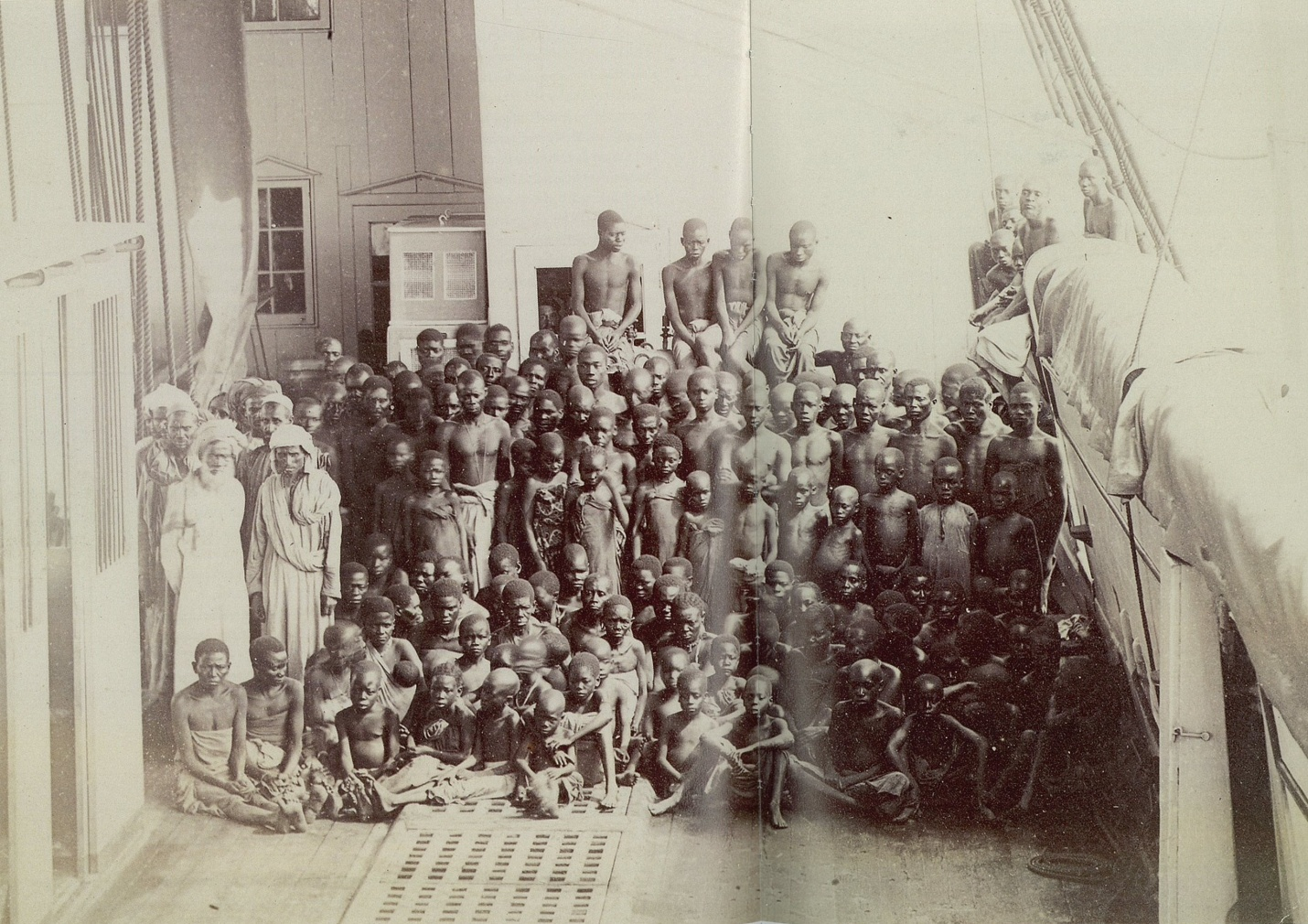 Image result for Livingstone and his team free slaves from Arab