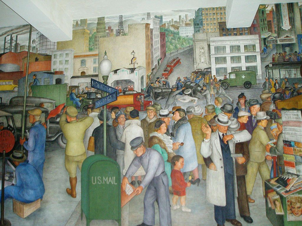 The o connor file and the wpa smithsonian libraries for American mural project