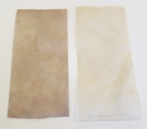 Dyed Paper After Drying