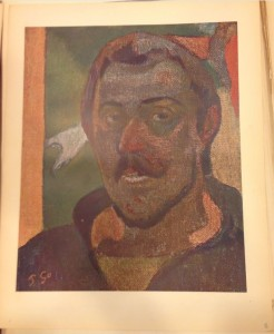 Paul Gauguin, Self-Portrait, 1888, Pushkin Museum of Fine Arts, Moscow