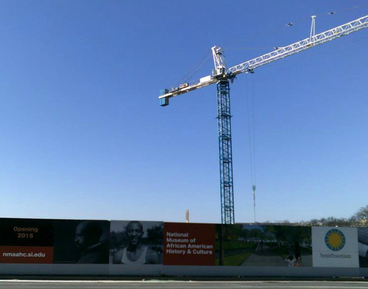 NMAAHC construction
