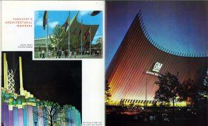 Futurama General Motors building at the 1964-65 World's Fair