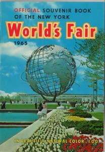 Cover of the Official Souvenir Book of the New York World's Fair