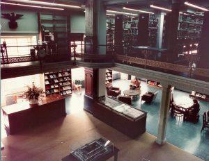 Smithsonian NCFA/NPG Library c. 1975. Photo by Wolfgang Freitag