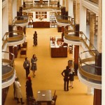 Smithsonian NCFA/NPG Library, 1975. Photo by Wolfgang Freitag