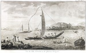 Hawkesworth's, An Account of the Voyages undertaken ... in the Southern Hemisphere, 1774.