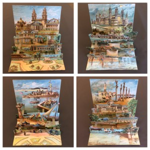 Set of four views of the World's columbian Exposition