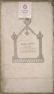 Mary Smith's personal bookplate