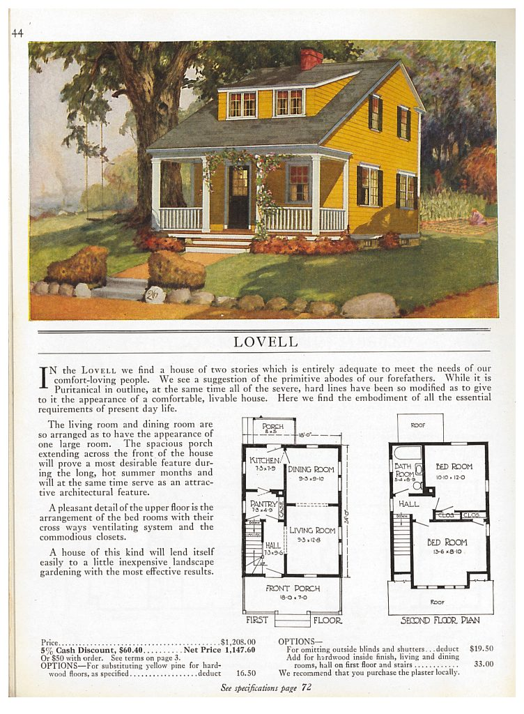 two story Sterling Cut-To-Fit Home called the Lovell