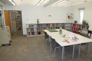 Photo of the new SERC Library space, taken by Gil Taylor.
