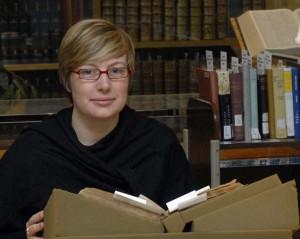 Meghan Dougherty, Dibner Resident Scholar.