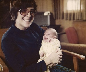 Rollyn Krichbaum and her son Steven.