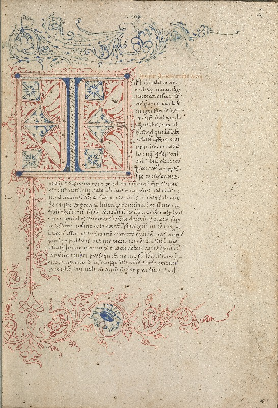 Illustrated page from Boethius' De Institutione Arithmatica