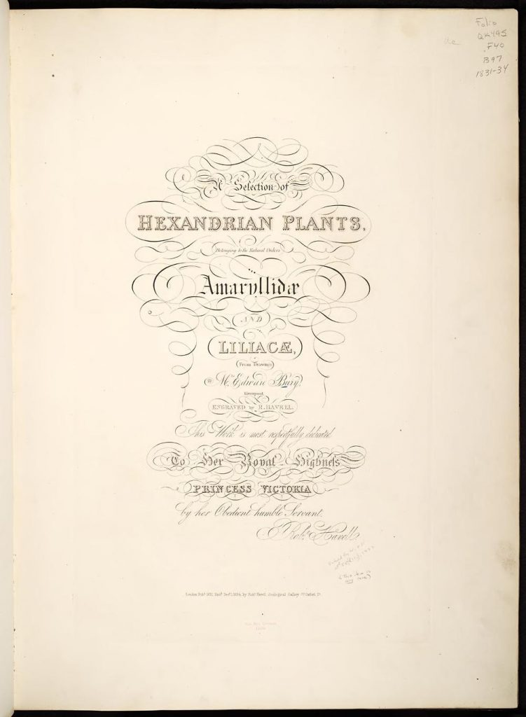 Title page (Biodiversity Heritage Library, contributed by the Missouri Botanical Garden, Peter H. Raven Library)