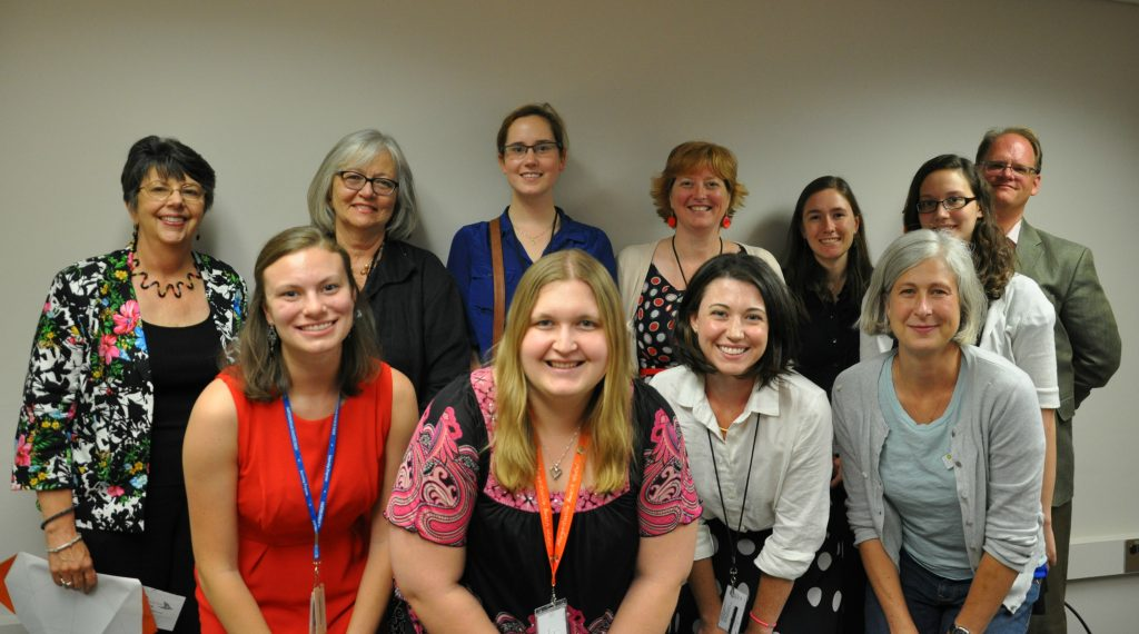 Summer 2014 Interns with the Smithsonian Libraries Executive Committee