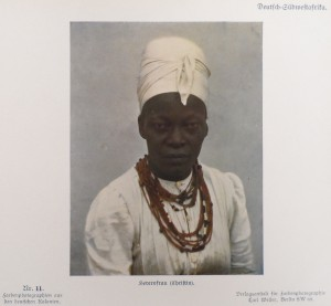 German Southwest Africa: A Christian Herero woman.