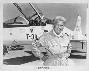 Jackie Cochran in 1962 (Smithsonian Archives)