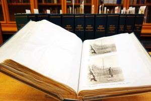 Volumes from the Robert H. Goddard Papers (Housed in the DeWitt Clinton Ramsey Room)
