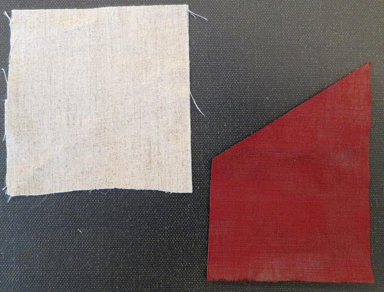 Plain Airplane Linen vs. toned to match original book cloth