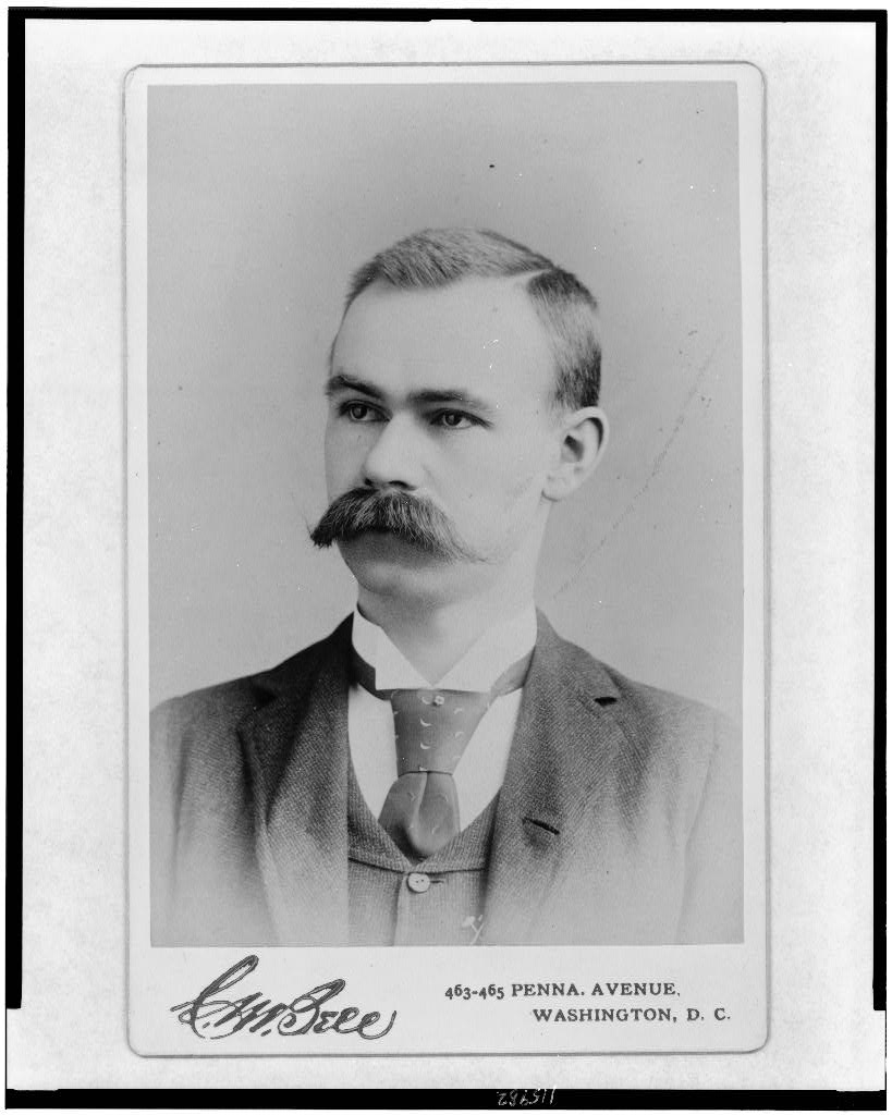Portrait of a young Washington businessman: Herman Hollerith, approximately 1888, photography by C. M. Bell (Prints & Photographs Division, Library of Congress)
