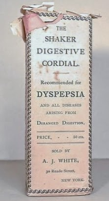 Shaker Digestive Cordial (A.J. White, New York, New York; National Museum of American History, no. 246707)
